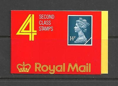 1988 GB3 4 X 14p LAMINATED HARRISON BOOKLET COMPLETE