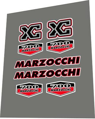 Decal Set MARZOCCHI Shiver WC DH 2001 Fork Sticker
