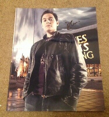 BURN GORMAN   - DR WHO   - SIGNED COL PHOTO  - 10 x 8 Inches   -  AUTHENTIC