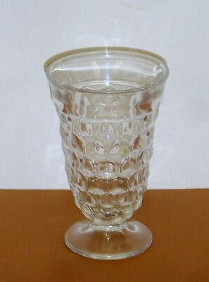 "Fostoria American Crystal Glass Iced Tea 5 3/4"" High Tumbler"