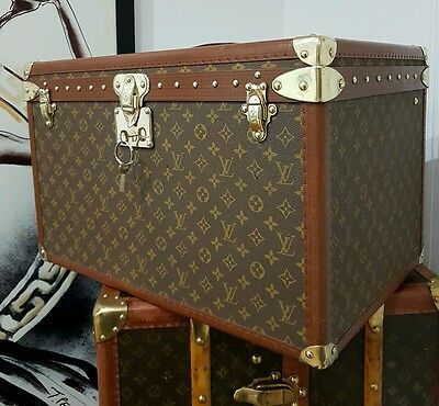 Louis Vuitton Double Hat Box Trunk Malle