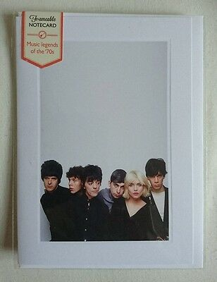 BLONDIE - Music Legends Of The 70's FRAMEABLE NOTECARD