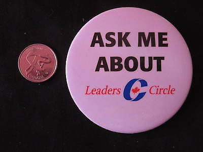 Conservative Party of Canada Fundraising Button #1 *WOW*