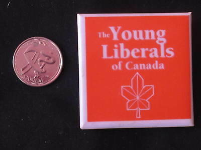 Young Liberals of Canada Logo Button #2 *WOW*