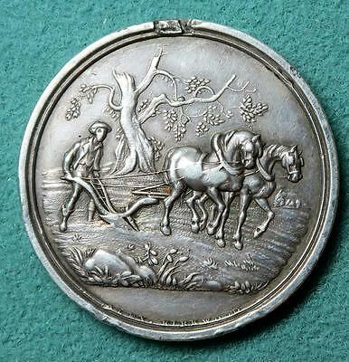 Highland & Agricultural Society of Scotland silver ploughing medal 1847 A McLean