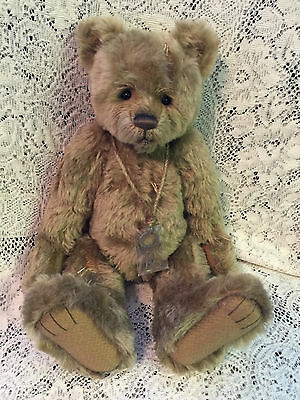 Charlie Bears DUSTY PAWS 2016 Isabelle Mohair Collection FREE US SHIP