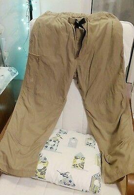 North Face trousers size medium