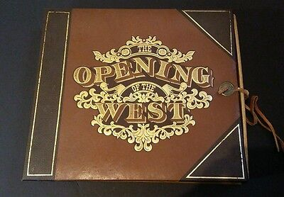 American Bank Note Company THE OPENING OF THE WEST 3 of 11 booklets and Box