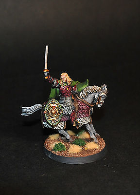 Warhammer Lotr Eomer Knight of Pelennor well painted