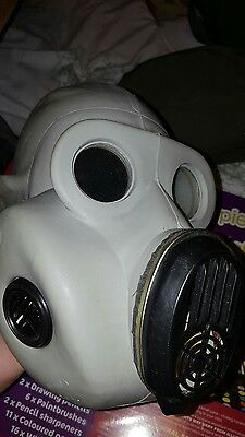 Soviet Army Gray Gas Mask PBF EO-19 with filters and bag