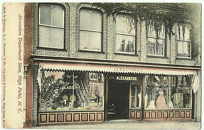 Alexander's Department Store, High Point, North Carolina