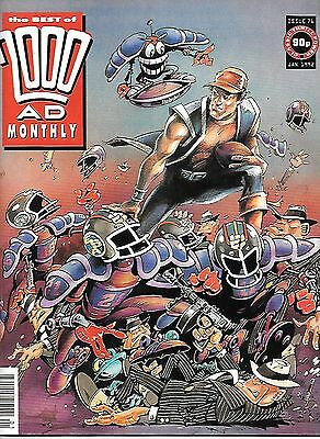 """Best of 2000 AD Monthly #76 (1992) Robo-Hunter """"Day of the Droids"""""""