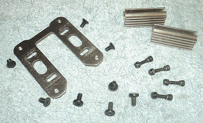 Very Good Condition Hyper 7 7.5 Engine Mounts Full Set With All Screws & Plate.