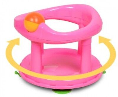 Baby Bath Seat - Safety 1st Swivel Bath Seat -Pink, Bath Chair For Baby,Toddler