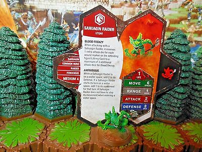 Sahuagin Raider Heroscape Champions of the Forgotten Realms Wave 11/D1