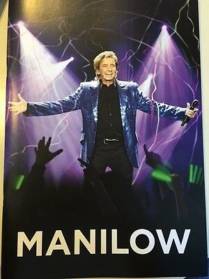 2015-2016 Barry Manilow tour book  BIG BOOK lots of photos NEW