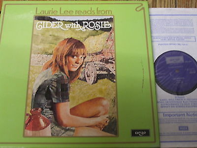 ZSW 593-5 Laurie Lee reads from Cider With Rosie 3 LP box
