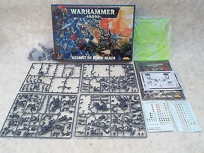 Warhammer 40K Assault On Black Reach. For Spares, Many Useful Pieces 60010199005