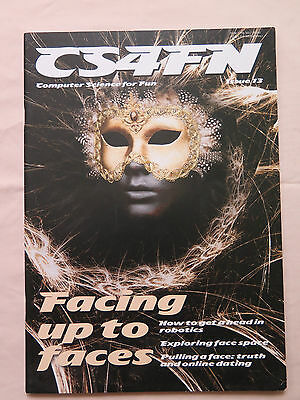 CS4FN COMPUTER SCIENCE MAGAZINE issue 13 FACING UP TO FACES