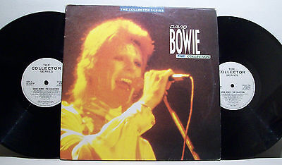 DAVID BOWIE - the collection 2xLP GATEFOLD rare songs '60s MOD drums R&B