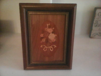 Walter Weiss Marquetry Art Picture