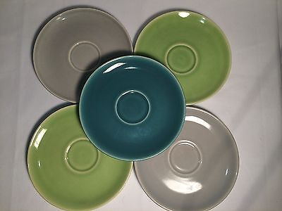 Vintage Harmony House SYMPHONY Oven Proof Dinner Ware 5 Saucers
