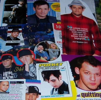 Good Charlotte 44 pc German Clippings Collection Joel Madden Poster