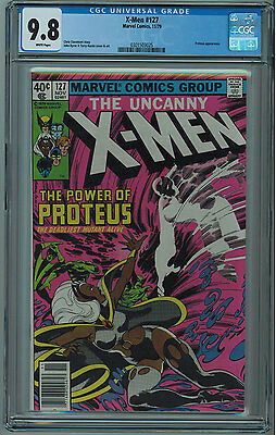 X-Men #127 Cgc 9.8 2Nd Best Cgc Grade White Pages 1979