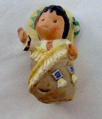 FRIENDS OF THE FEATHER  Papoose Baby Untitled 1998 Enesco No Number