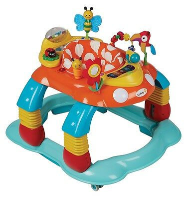 NEW Safety 1st Baby Walker 3 in 1 Activity Centre Melody Garden #`17245