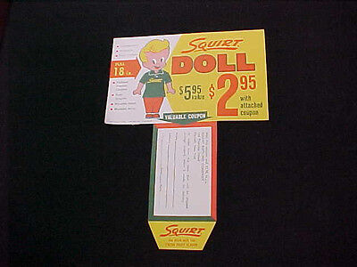 Squirt Soda Doll Premium Coupon 6-Pack Insert