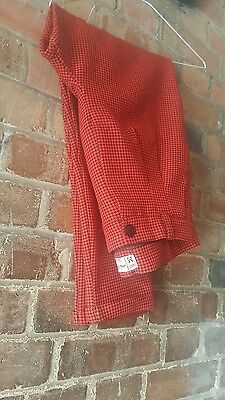Vintage High-Waisted Tapered Houndstooth Trousers Size M