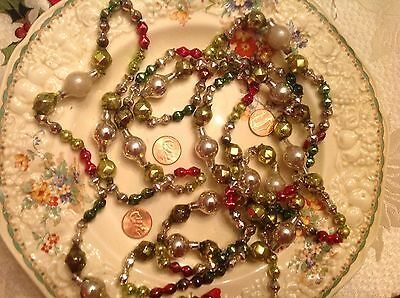 Vintage/Antique Mercury Glass Garland