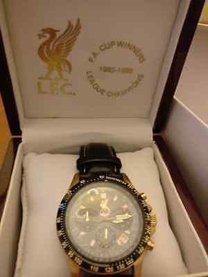Limited editionLliverpool  FC doubles winning watch 1985/86