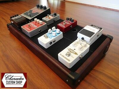 Character Custom Shop – Wine Red - Guitar Effects Pedal Board *Boss, Fender, EHX