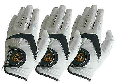 New Onyx Junior/Kids Golf Gloves - 3 Pack - Left Hand Small - Suits Ages 4 to 7