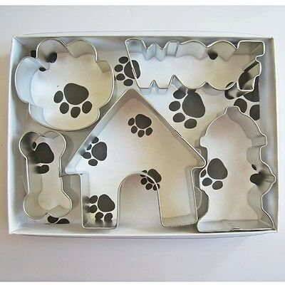 Woof Dog Five Piece Cookie Cutter Set - FREE SHIPPING