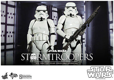 STORMTROOPER SET FIGURE MMS268 Hot Toys 1/6 Star Wars A New Hope