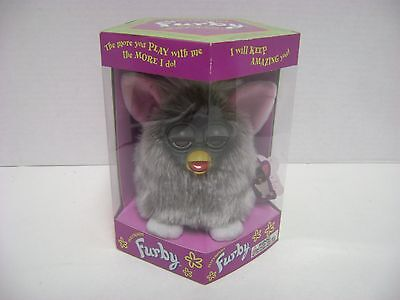 1998 Tiger Electronics Furby Gray Color Mint in Sealed Box Model 70-800