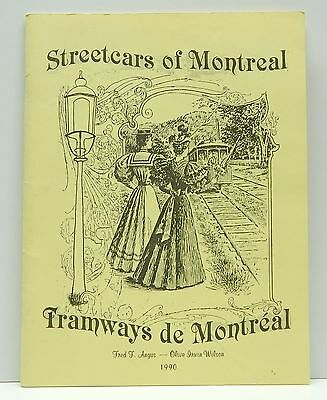 Book Streetcars of Montreal Quebec Canadian Railroad Historical Association