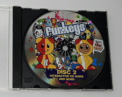 UB Funkeys Wendy's Disc 2 CD rom disk only computer software HTF