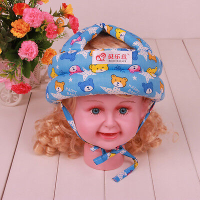 Baby Toddler Forestry Safety Helmet Headguard Hat Cap Harnesses Gift Adjustable