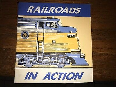 RAILROADS IN ACTION BOOK 1968 From The Delaware Otsego Railroad Company