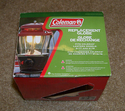 5178 /& Many more Coleman Replacement Clear Globe # 5177B043 Fits Models 5177