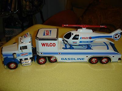 Vintage 1996 Wilco Truck And Helicopter