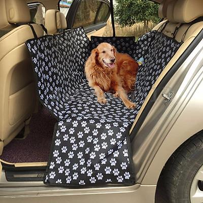Pet Car Seat Cover Dog Cat Portable Rear Back Mat Protector Safety Cushion HOT