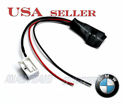 Bluetooth Audio Adapter for 2004&Up BMW E60 E61 M-ASK CCC 12Pin Aux port BT-BM12