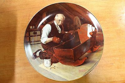 Collector Plate Norman Rockwell Grandpa's Gift