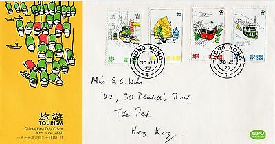 Hong Kong 1977 Tourism First Day Cover