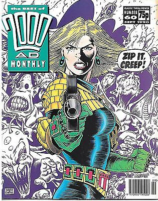 """Best of 2000 AD Monthly #60 (1990) Judge Anderson """"The Possessed"""""""